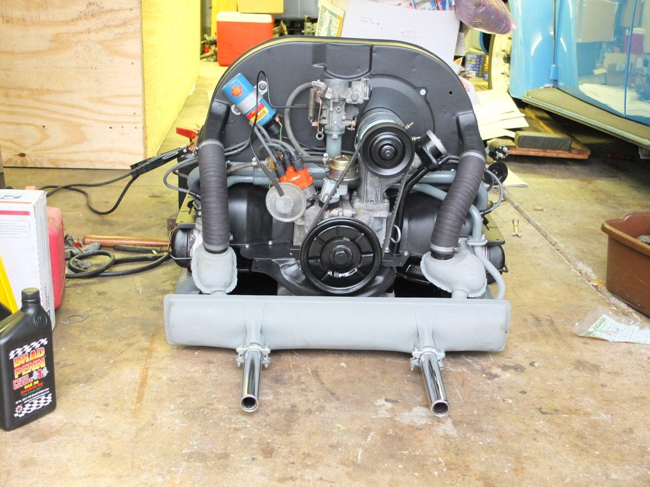 Engine Picked Up From Builder 1966 Vw Beetle Project