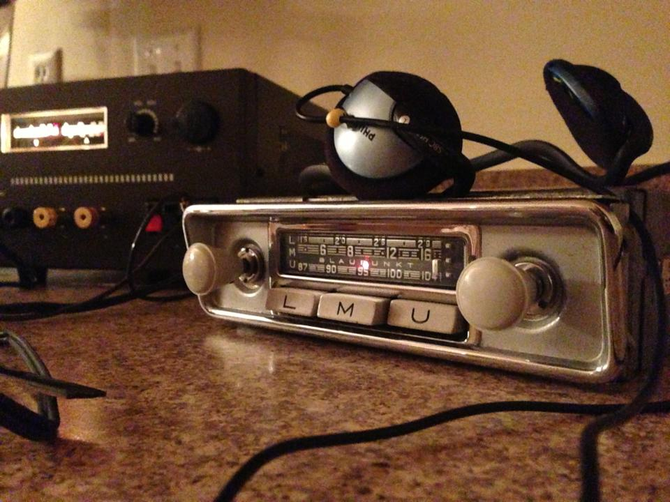 Vintage Blaupunkt Radio 1966 Vw Beetle Project Vw Blvd
